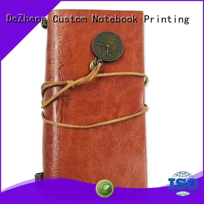 Dezheng durable luxury leather journals Supply For meeting