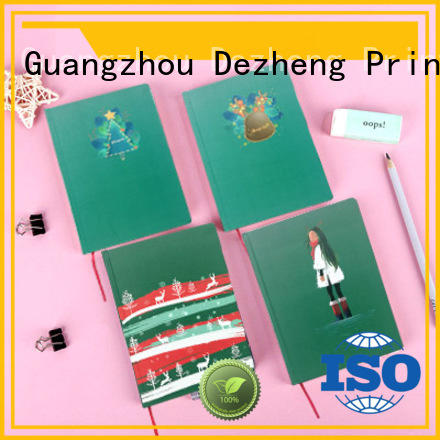 Dezheng Custom personalized hardcover notebook Suppliers For journal