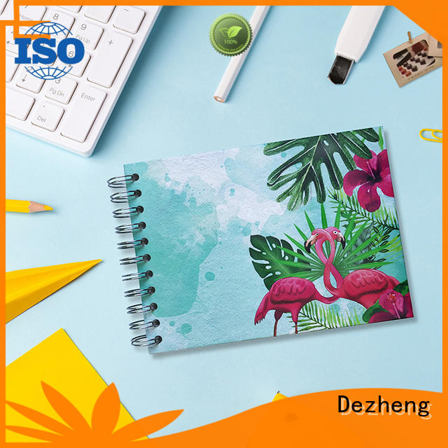 Dezheng binding self adhesive photograph albums customization for festival
