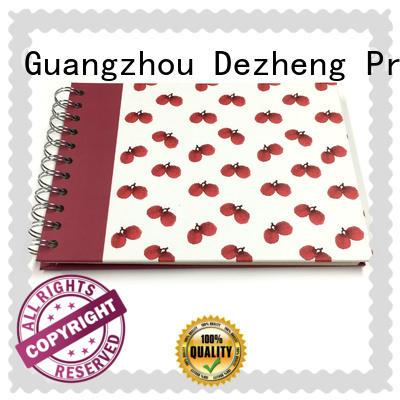 Dezheng durable photo album scrapbook bulk production for gift