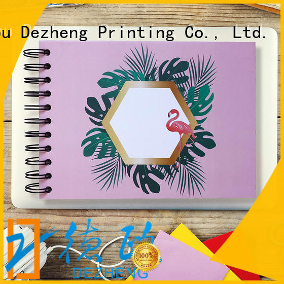 Dezheng high-quality photo scrapbook for business for friendship
