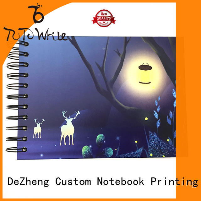 Dezheng durable Paper Notebook Manufacturers ODM For DIY