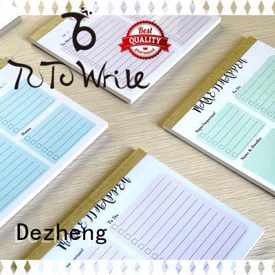 Dezheng latest Paper Notebook Manufacturers for business for journal