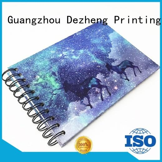 Dezheng portable scrapbook photo album ODM for friendship