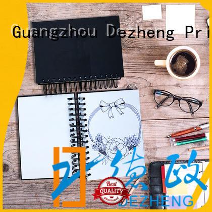 Dezheng design Paper Notebook Manufacturers customization for notetaking
