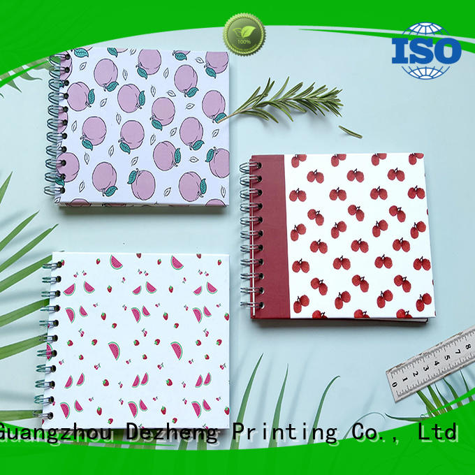 Dezheng Custom scrapbook style photo album Suppliers for festival