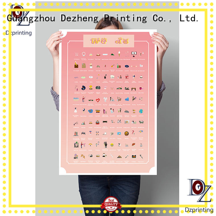 Dezheng Wholesale 100 things to do bucket list scratch off for business For meeting