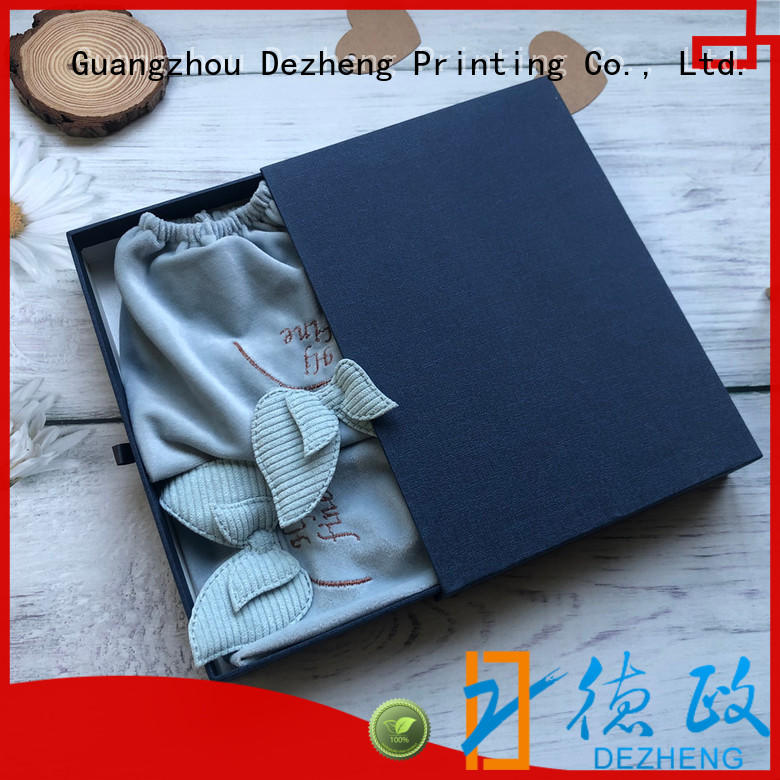 Dezheng rectangle high quality paper box Supply