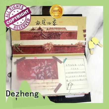 Dezheng personalised leather notebook customization For meeting