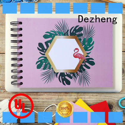 Dezheng holder School Notebook Manufacturers customization For DIY