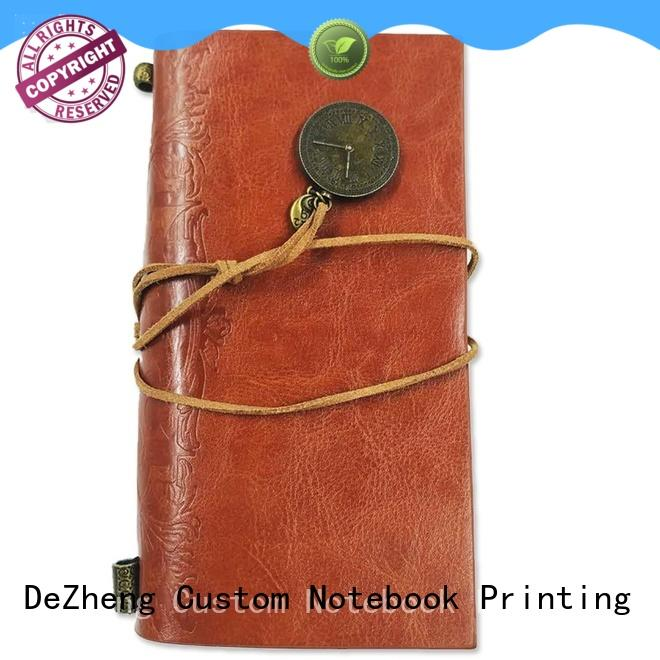 high-quality Spiral Notebook Manufacturers leather OEM For Gift