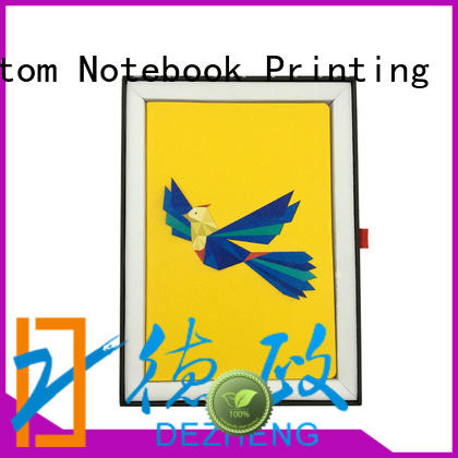 Dezheng Best pu leather planner Supply for note taking