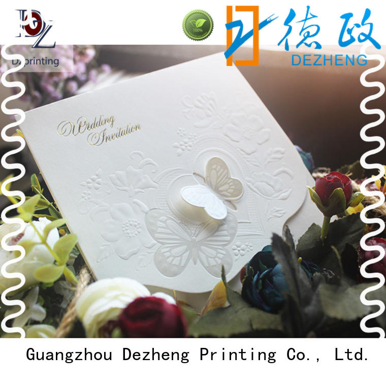 Dezheng greeting card manufacturers china for business