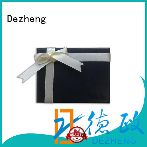 Dezheng packaging paper jewelry box manufacturers Supply for gift