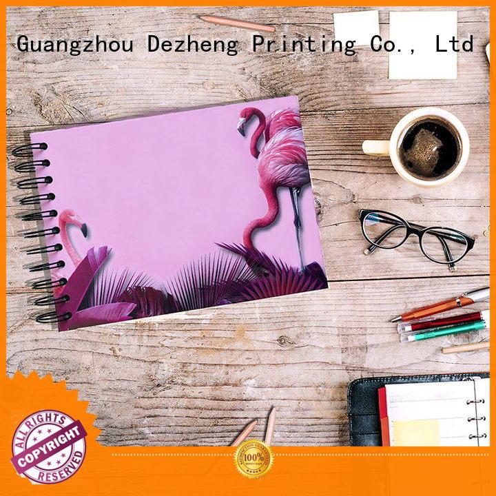 Dezheng card Buy Notebooks In Bulk free sample For DIY
