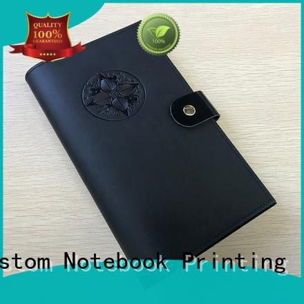 Dezheng portable leather diary book For meeting