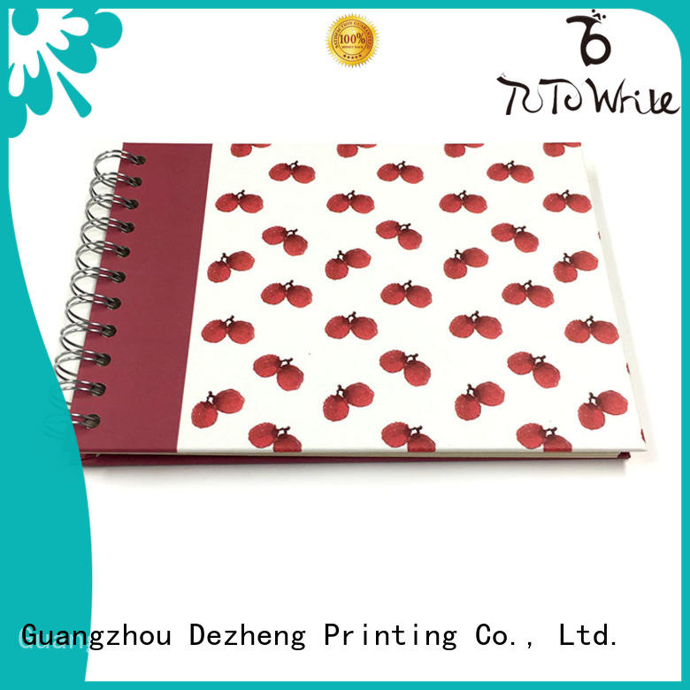 Dezheng notebook Spiral Notebook Manufacturers company for personal design