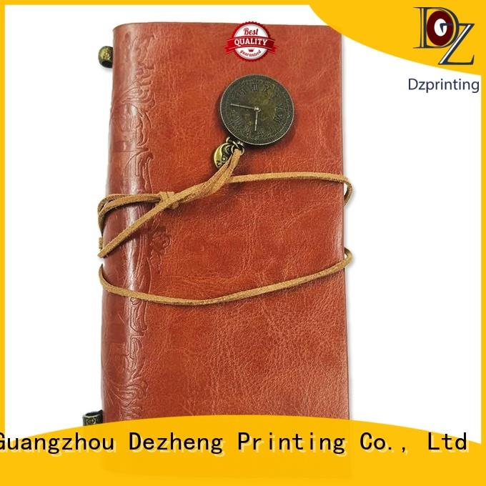 Dezheng latest personalized journal notebook Suppliers For meeting