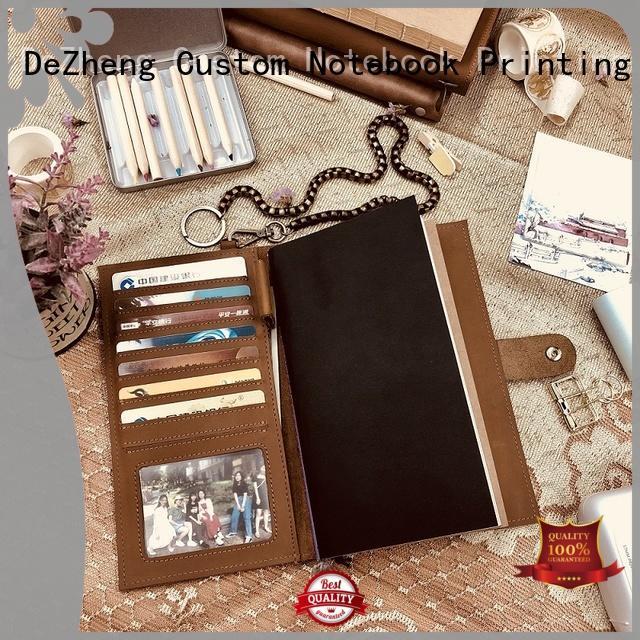 Dezheng solid mesh custom notebook customization
