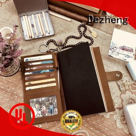 Dezheng solid mesh Leather Journal get quote