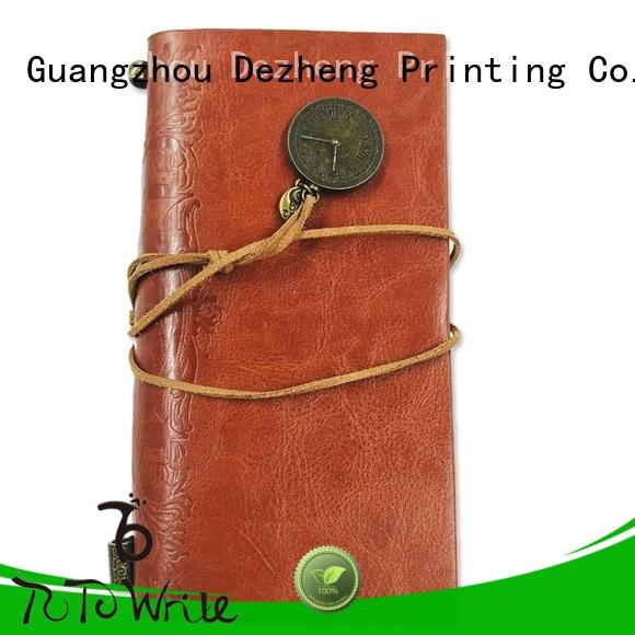 funky personalised notebooksleather supplierfor personal design