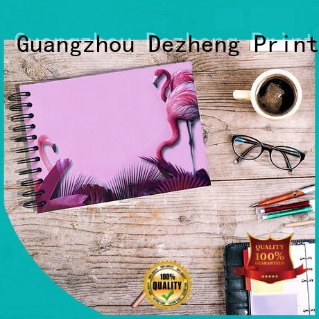 Dezheng cover self adhesive album supplier for friendship