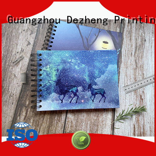 Dezheng 12x12 self stick photo album factory for gift