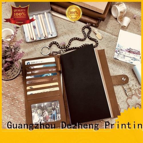 Dezheng portable notebooks factory free sample for notetaking