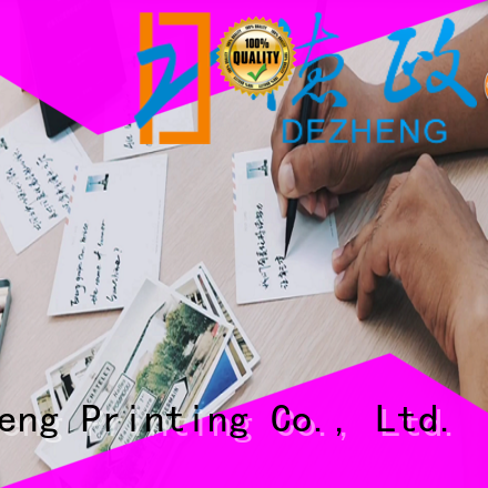 Dezheng black greeting cards for kids company for friendship