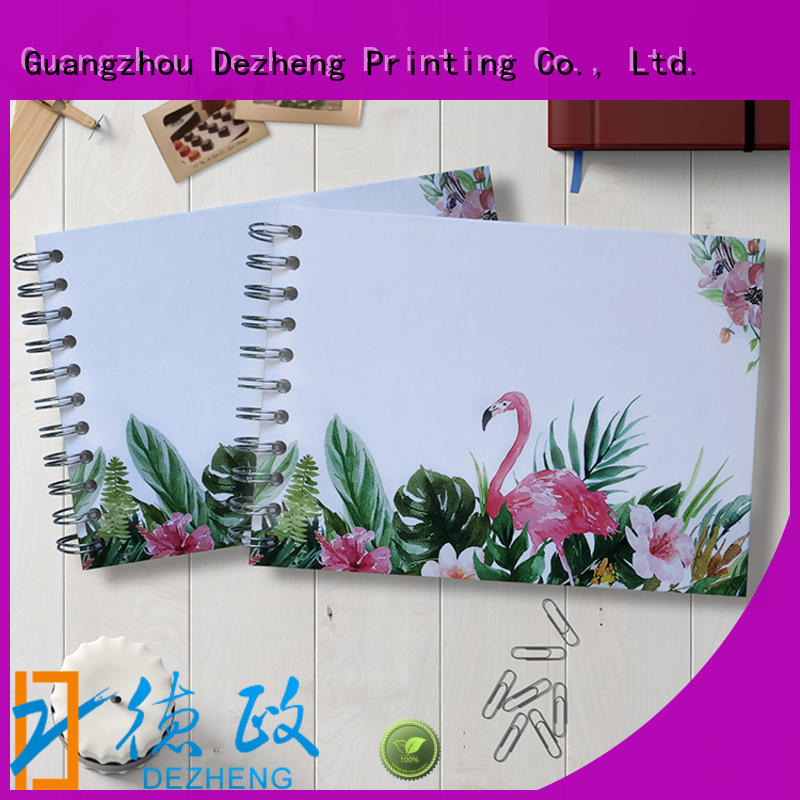 Dezheng high-quality photo album self adhesive for festival