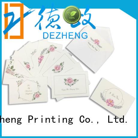 Dezheng greeting card manufacturers china manufacturers