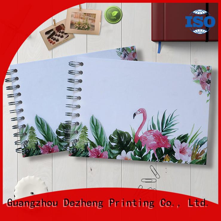 Dezheng latest album photo scrapbooking company for festival