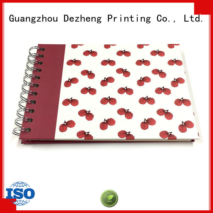 Dezheng linen personalised self adhesive photo albums factory for festival