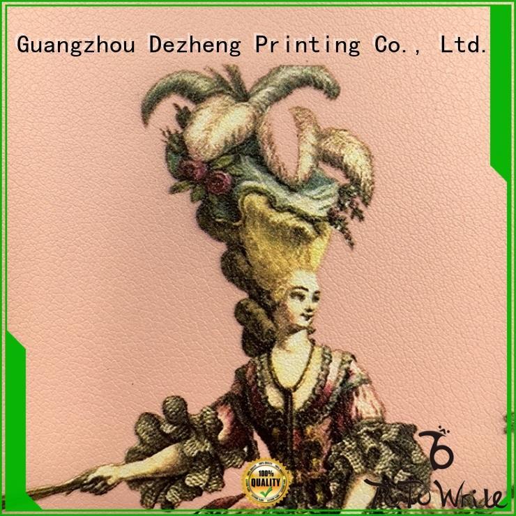 Dezheng latest PU Leather Notebooks customization for career