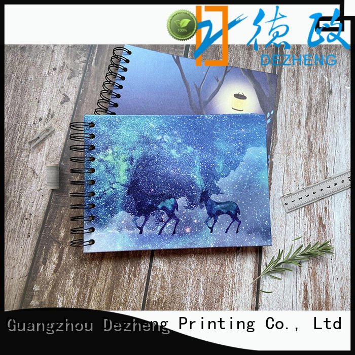 Dezheng scrapbook style photo album for business for gift