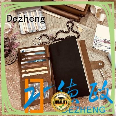 Dezheng best leather bound notebook For business