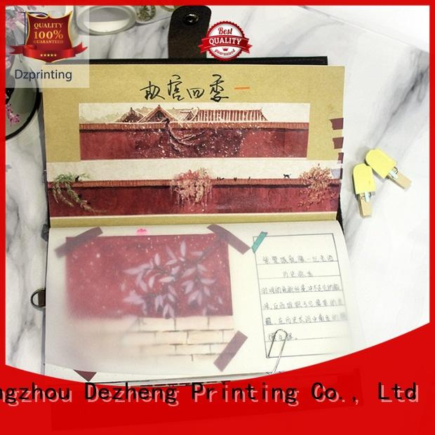 Dezheng High-quality custom notebooks and planners customization For student