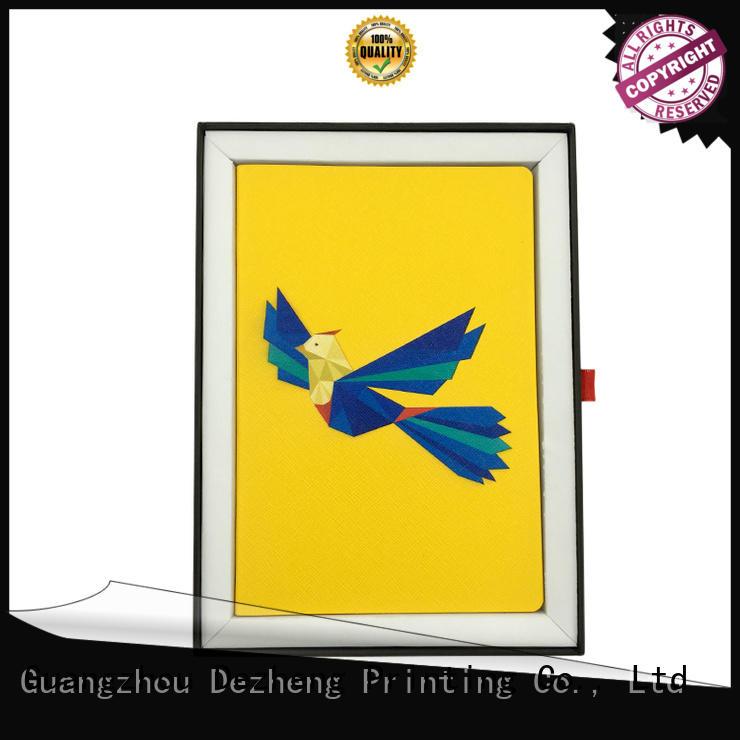Dezheng spiral Chinese Notebook Manufacturers bulk production for journal