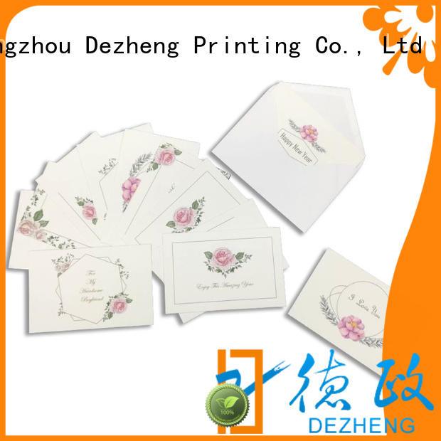 Dezheng Latest universal congratulation card Supply