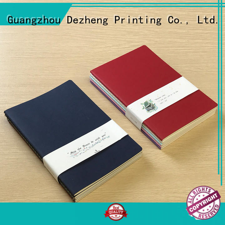 Dezheng grid Notebook Manufacturing Companies supplier For student