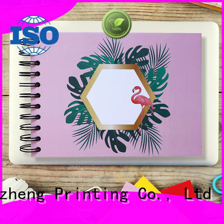 Dezheng adhesive self adhesive scrapbook albums factory for festival