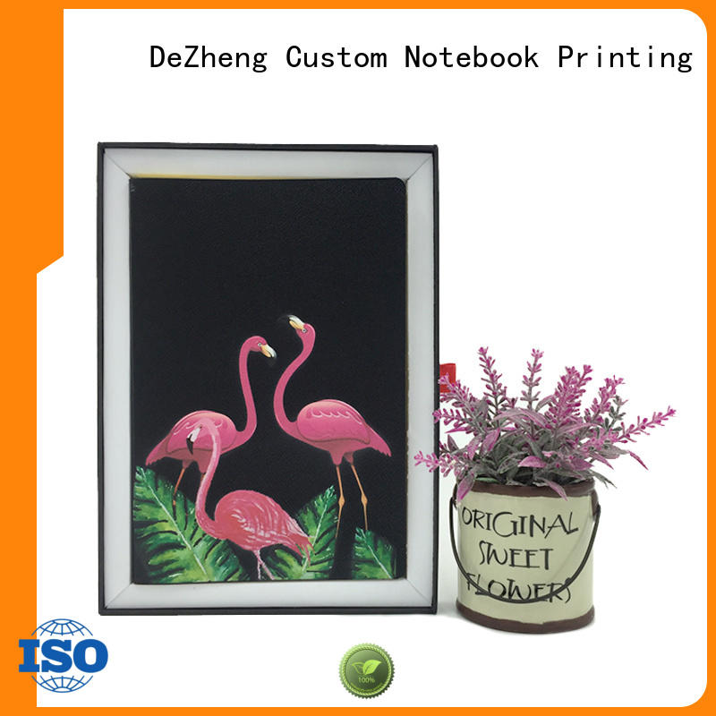 Dezheng Top custom printed notebooks factory For school