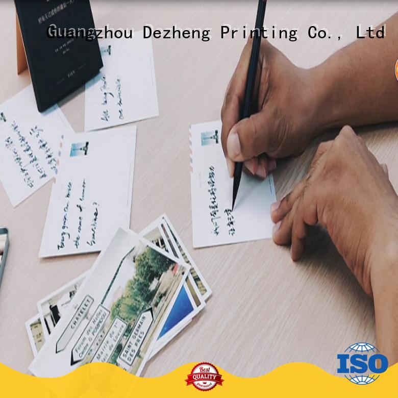 Dezheng you custom greeting card printing bulk production for festival