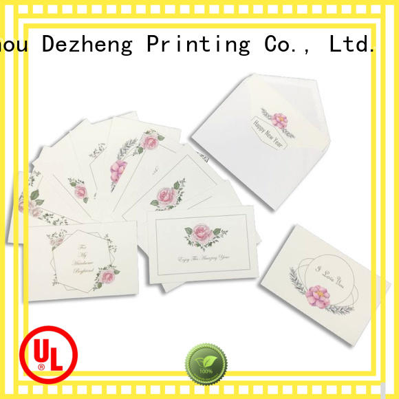 Dezheng universal holiday card Suppliers