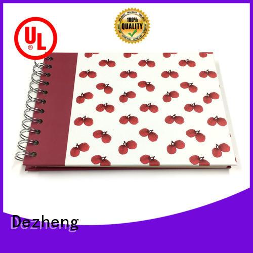 Dezheng linen picture scrapbook supplier for festival