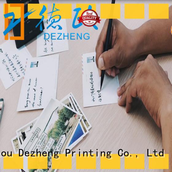 Dezheng paper blank envelope free sample for deliver