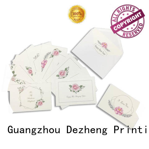 durable personalised cards invitation for wholesale for greeting