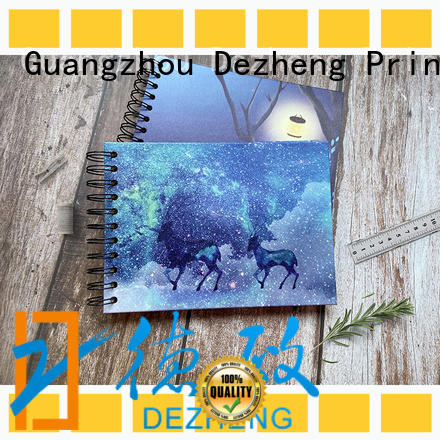 Dezheng 10x10 photo album with self stick pages Suppliers for friendship