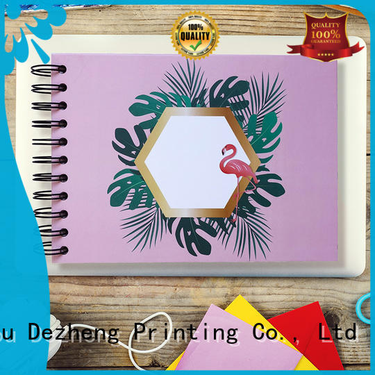 Dezheng 10x10 self adhesive photograph albums company for gift