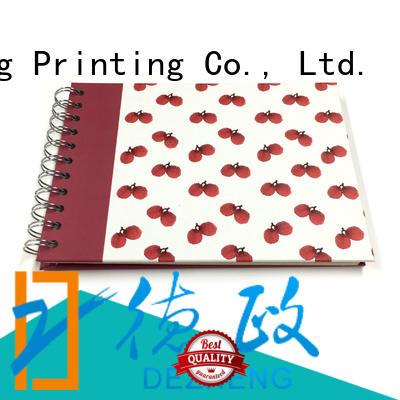 Dezheng photo album scrapbook OEM for gift